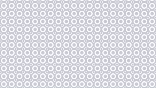 White Seamless Geometric Circle Pattern Image
