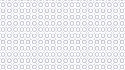 White Seamless Geometric Circle Pattern Background Vector Graphic