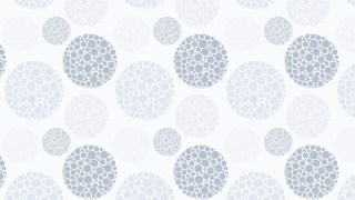 White Dotted Circles Pattern Background