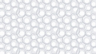 White Circle Background Pattern