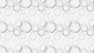 White Geometric Circle Pattern