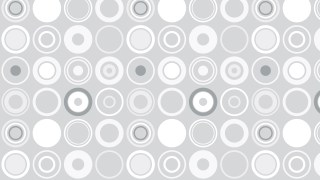 White Geometric Circle Background Pattern