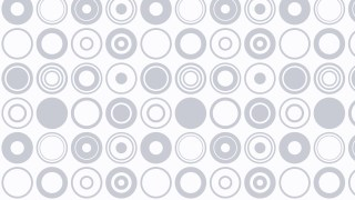 White Seamless Circle Pattern