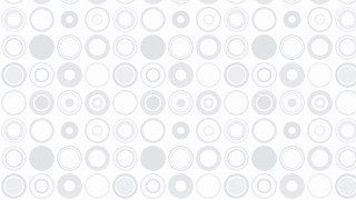 White Seamless Circle Pattern Background
