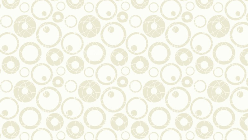 White Circle Pattern Vector