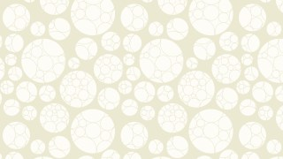 White Circle Background Pattern Graphic