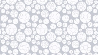 White Geometric Circle Pattern Background Design