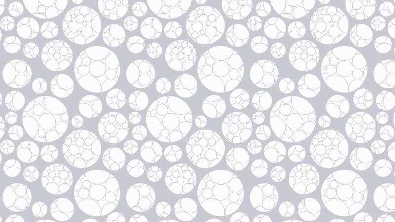 White Geometric Circle Pattern Background Design