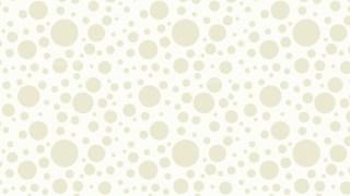 White Random Circles Dots Background Pattern