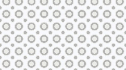 White Circle Pattern Background