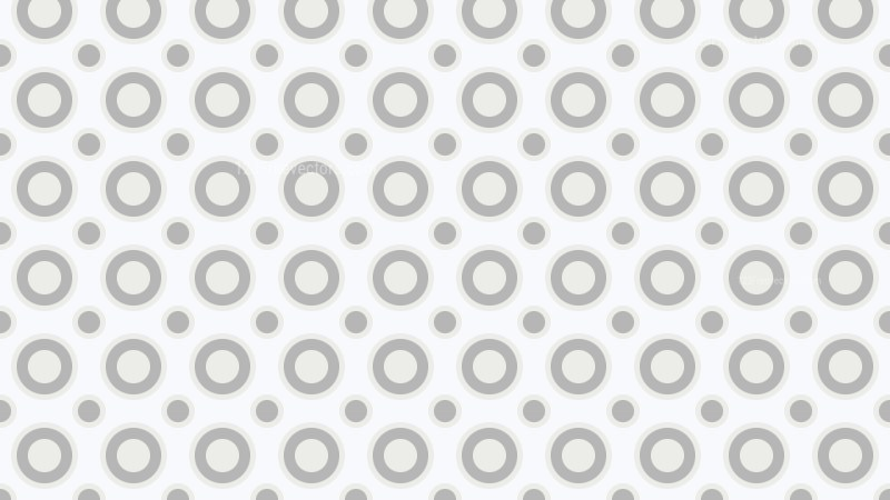 White Circle Pattern Background