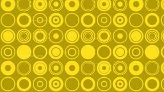 Gold Geometric Circle Background Pattern