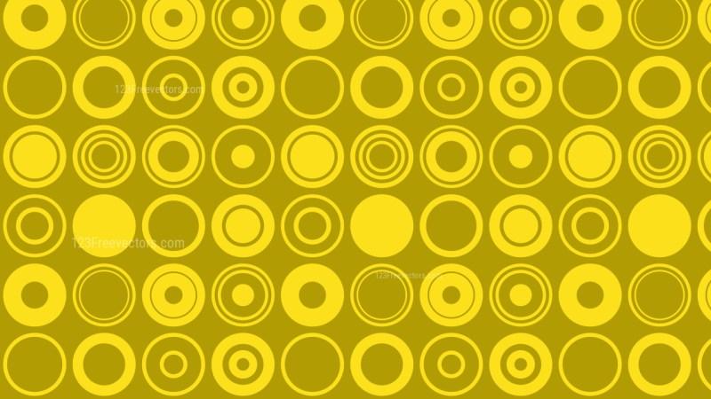 Gold Geometric Circle Background Pattern