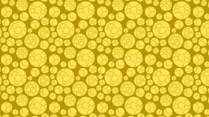 Gold Circle Pattern Design