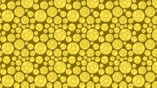 Yellow Circle Pattern Background Image