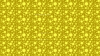 Yellow Scattered Dots Pattern