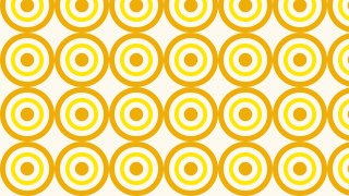 Yellow Seamless Concentric Circles Pattern Background Graphic