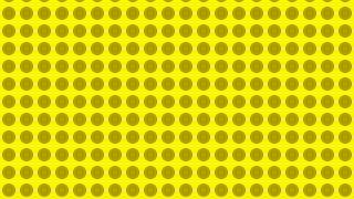 Yellow Seamless Geometric Circle Background Pattern Image