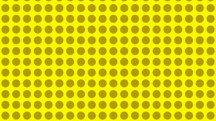 Yellow Seamless Geometric Circle Background Pattern Image