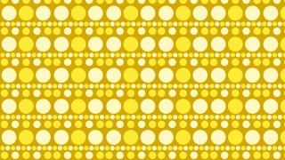 Yellow Circle Pattern Background Vector Illustration