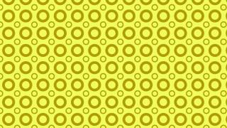 Yellow Geometric Circle Background Pattern Illustration