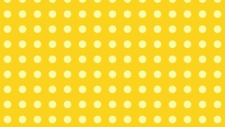 Yellow Seamless Circle Pattern Design
