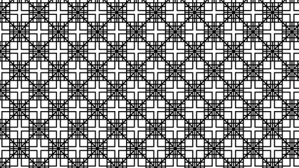 Black and White Square Background Pattern