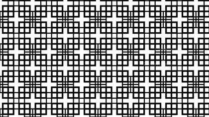 Black and White Geometric Square Pattern Background
