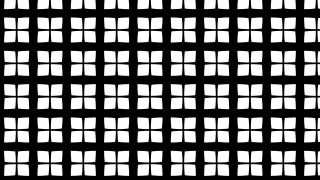 Black and White Seamless Geometric Square Background Pattern