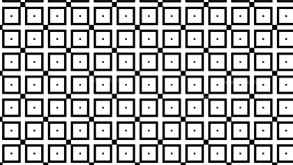 Black and White Square Pattern Graphic