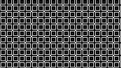 Black and White Square Pattern Background Illustration