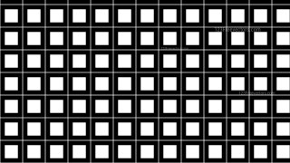 Black and White Square Background Pattern Design