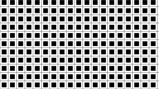 Black and White Geometric Square Pattern Image