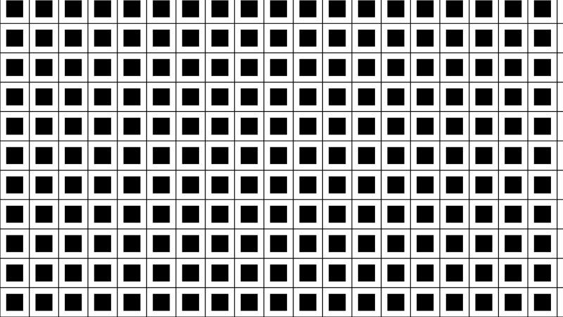 Black and White Geometric Square Pattern Image