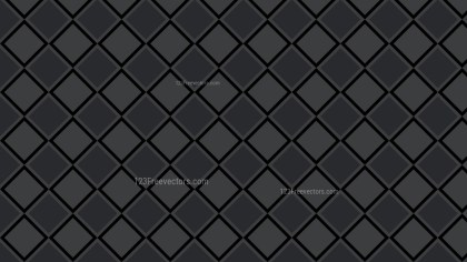 Black Geometric Square Pattern Background Vector Graphic