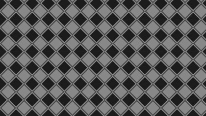 Black and Grey Seamless Square Pattern Illustrator