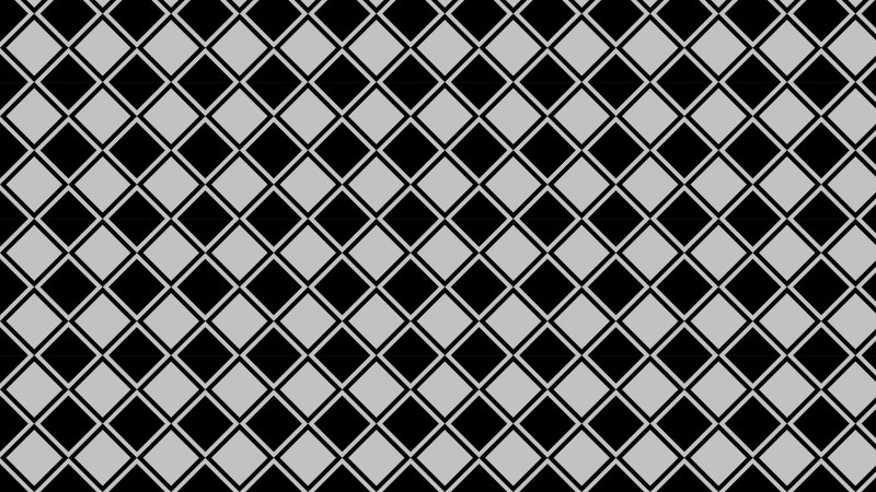 Black and Grey Seamless Square Pattern Background Vector Illustration