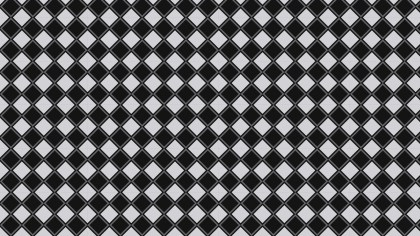 Black and Grey Seamless Geometric Square Pattern Vector Art