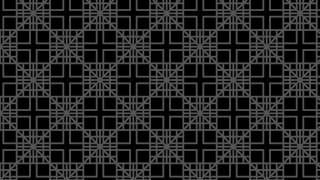 Black Square Pattern Background