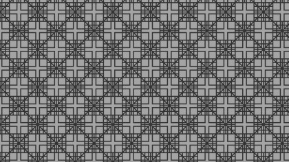 Black and Grey Geometric Square Pattern