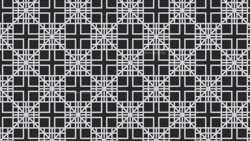 Black and Grey Geometric Square Pattern Background