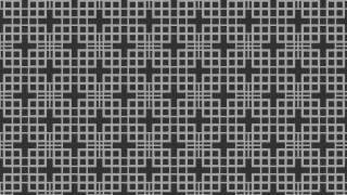 Black Seamless Square Pattern