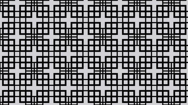 Black and Grey Seamless Geometric Square Pattern