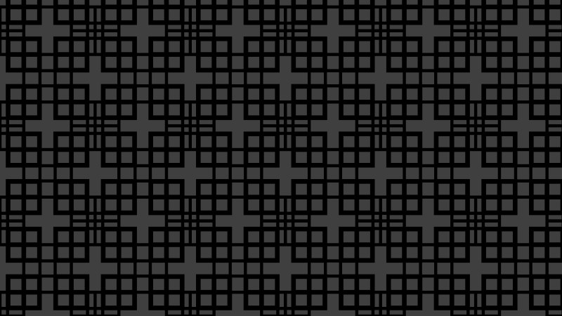 Black Seamless Geometric Square Background Pattern