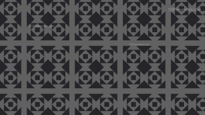 Black and Grey Square Pattern Vector Graphic