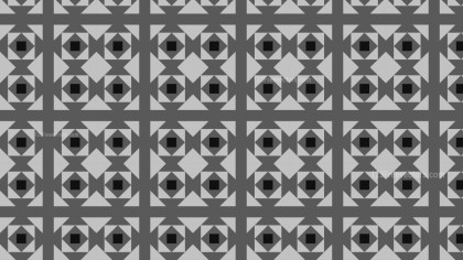 Black and Grey Geometric Square Pattern Background Vector