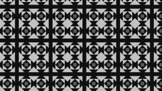Black and Grey Geometric Square Background Pattern Vector Art