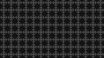 Black Seamless Square Pattern Background Illustration
