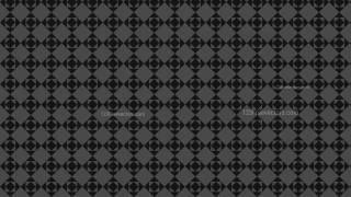Black Seamless Square Background Pattern Design
