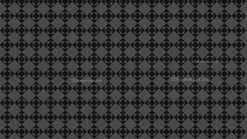 Black Seamless Square Background Pattern Design